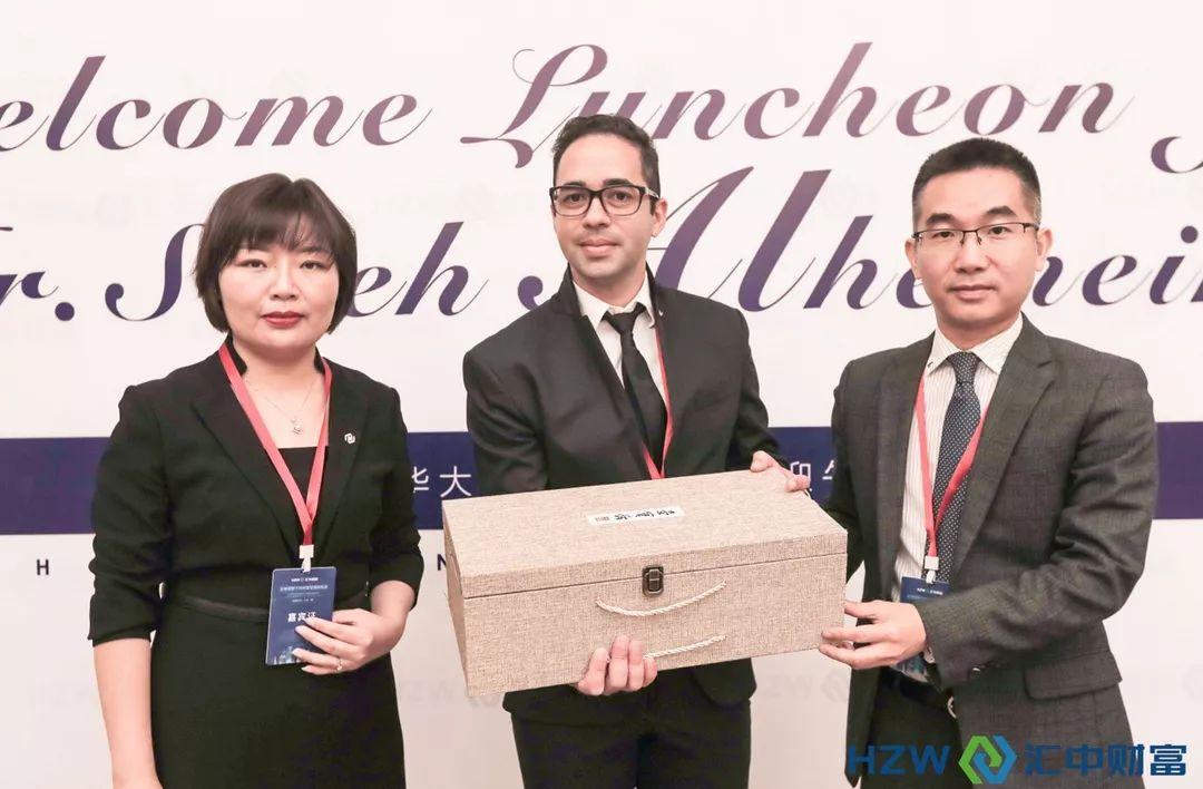 阿联酋驻华大使馆经贸主任代表到访qy8千赢国际app版财富,共话新时代财富管理新机遇